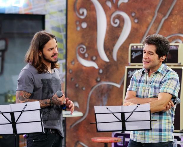 Kim Lírio ensaia com Daniel para Final (Foto: Isabella Pinheiro/ Gshow)