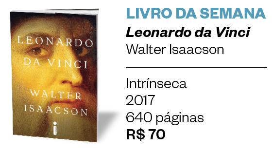 Livro da semana | Leonardo da Vinci  (Foto: Divulgação )