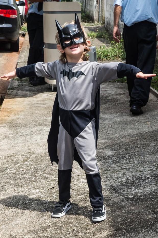Vittorio Galisteu na festa do filho de Marcos Mion (Foto: Manuela Scarpa/PhotoRio News)