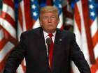 57% dos espectadores reagiram bem ao discurso de Trump