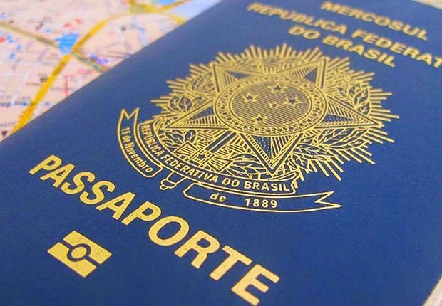Passaporte brasileiro ; trabalhar no exterior ;  (Foto: Reprodução/Facebook)