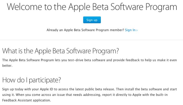 Acesse a página do Apple Bet Software Program (Foto: Reprodução/Helito Bijora)