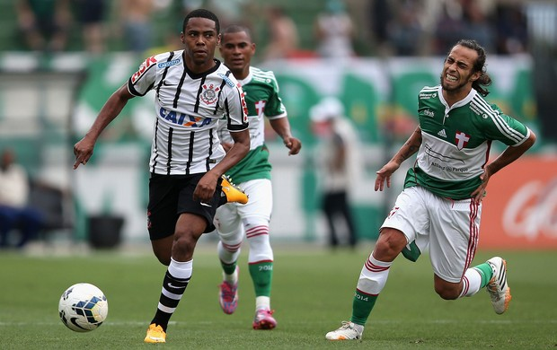 Elias Valdivia machucado, Palmeiras x Corinthians (Foto: Getty Images)
