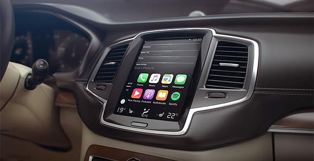 Volvo XC90 ganha compatibilidade com o Apple CarPlay (Foto: Divulgação)