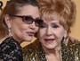 Corpo de Carrie Fisher é cremado e de Debbie Reynolds enterrado, diz site