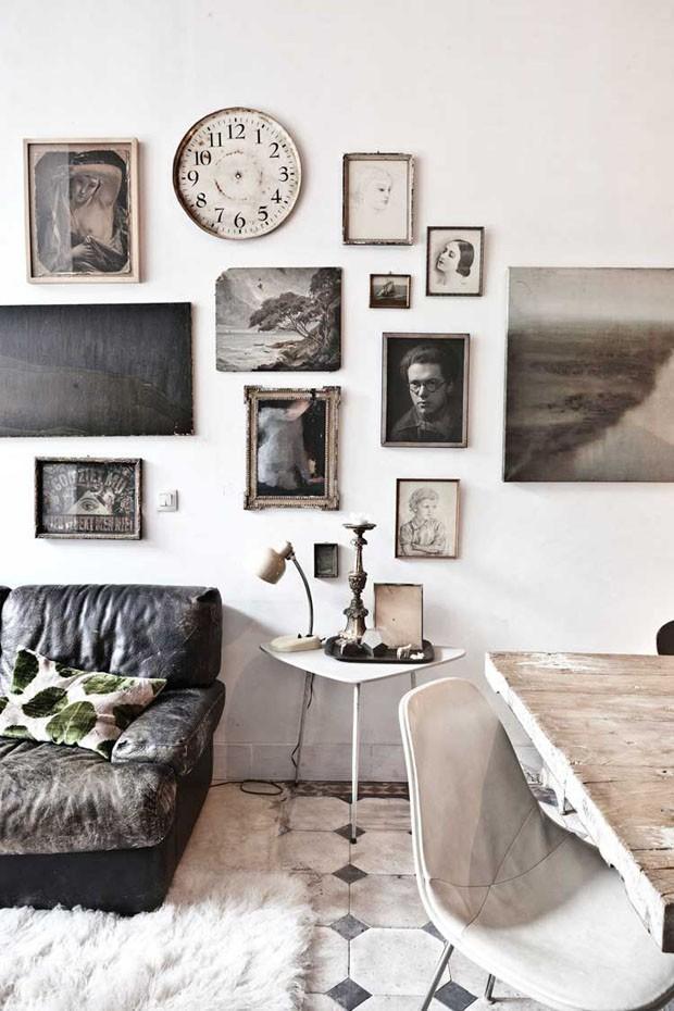 Casa Vogue Ama: gallery wall (Foto: Reprodução)