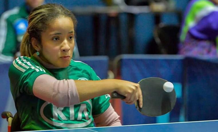 Raiza pratica tênis de mesa desde 2012 (Foto: Arquivo pessoal )
