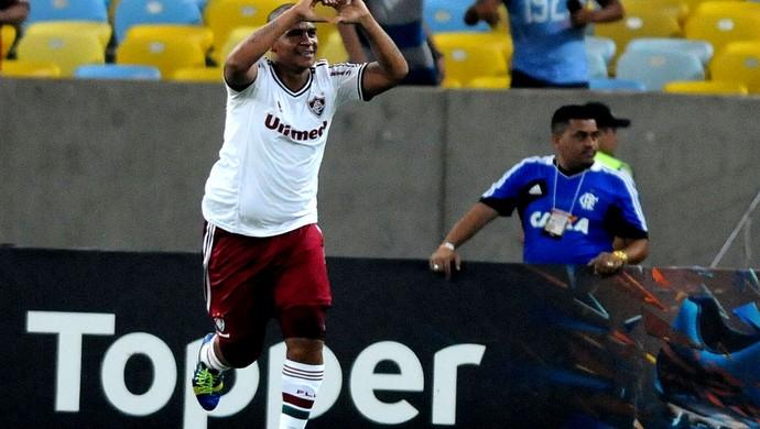 Walter fluminense gol flamengo (Foto: André Durão / Globoesporte.com)