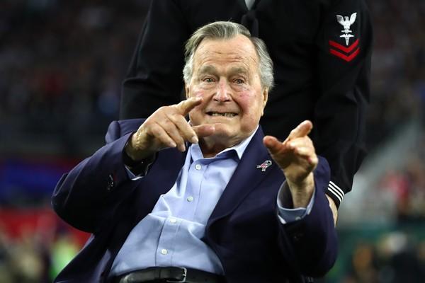 O ex-presidente dos EUA, George H.W. Bush (Foto: Getty Images)
