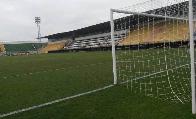 Estádio Nabi Abi Chedid, em Bragança Paulista (Foto: Divulgação / XV de Piracicaba)