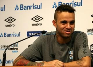 Luan Grêmio (Foto: Eduardo Deconto/GloboEsporte.com)