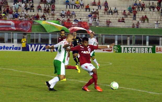 América-RN x Luverdense, no Estádio Nazarenão