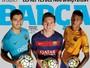 Barça põe Neymar, Messi e Suárez  em capa de revista e revela bastidores
