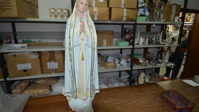 Imagem de Nossa Senhora (Foto: Arquivo Pessoal)