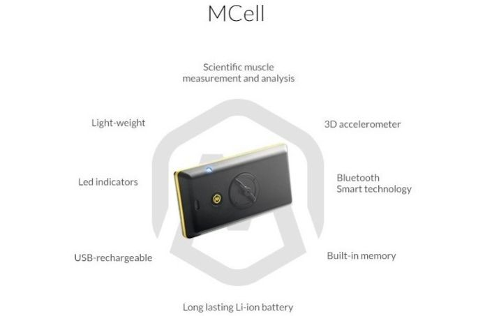 O aparelho MCell é que recolhe dados de sua performance física no Mbody (Foto: Divulgação)