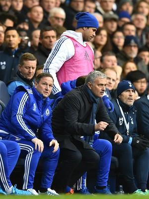 Diego Costa Mourinho Chelsea (Foto: AFP)