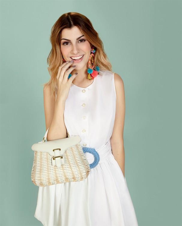 Nah Cardoso: moda pompons (Foto: Raquel Espírito Santo)