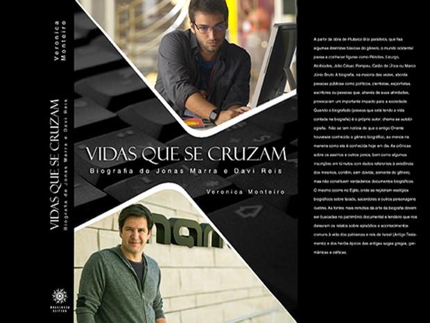 Capa da biografia de Jonas e Davi que já virou best-seller (Foto: Fato na Rede)