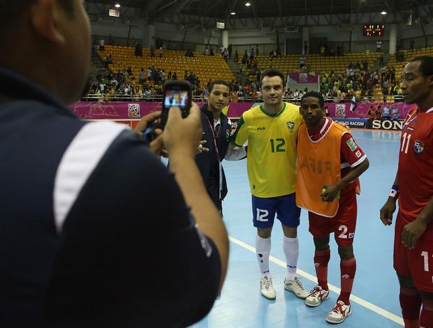 falcão brasil x panama futsal (Foto: Getty Images)