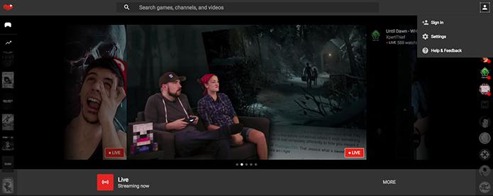 YouTube Gaming: como transmitir ao vivo pela plataforma de jogos (Foto: Reprodução/Murilo Molina)