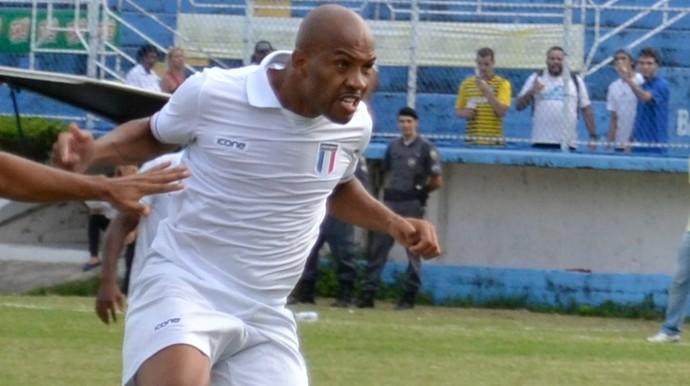 David Dener, atacante do Espírito Santo (Foto: Sidney Magno Novo/GloboEsporte.com)
