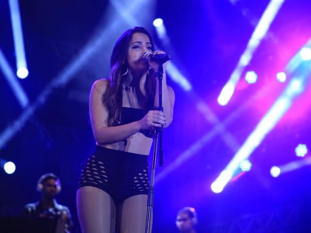 Cantora Anitta será uma das atrações da festa que começa a partir das 23h (Foto: Divulgação)