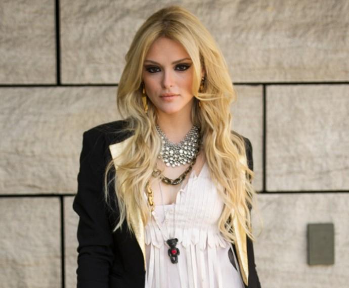 Em 'Geração Brasil' ela vivia a rebelde e estilosa Megan (Foto: Gshow /TV Globo)