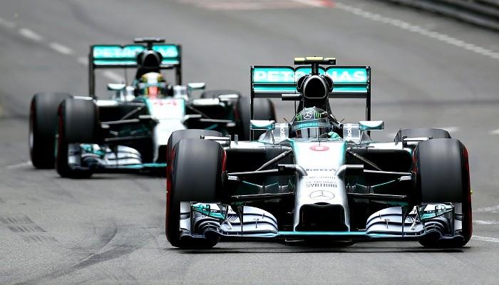 Lewis Hamilton Nico Rosberg GP de Mônaco