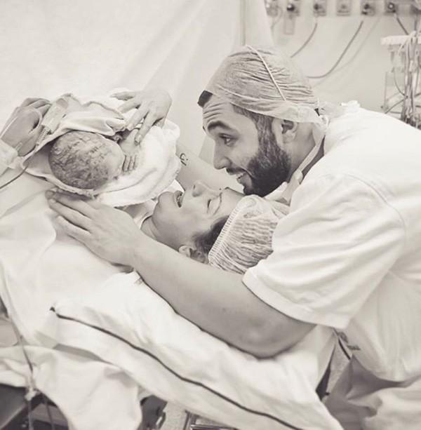 Antônia Fontenelle deu à luz Salvatore (Foto: Reprodução/Instagram)