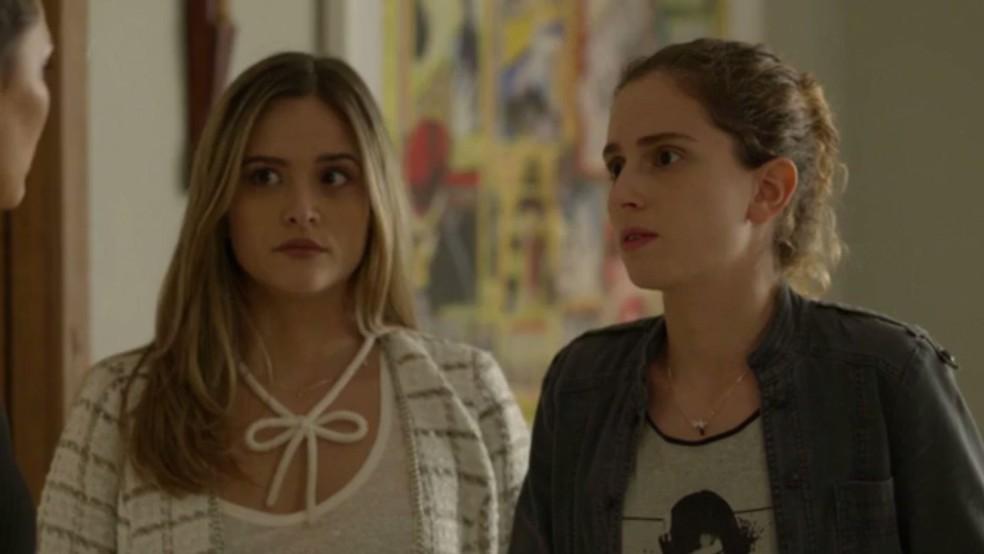 Simone e Ivana também acreditam na falsa notícia após vídeo com Ruy viralizar (Foto: TV Globo)