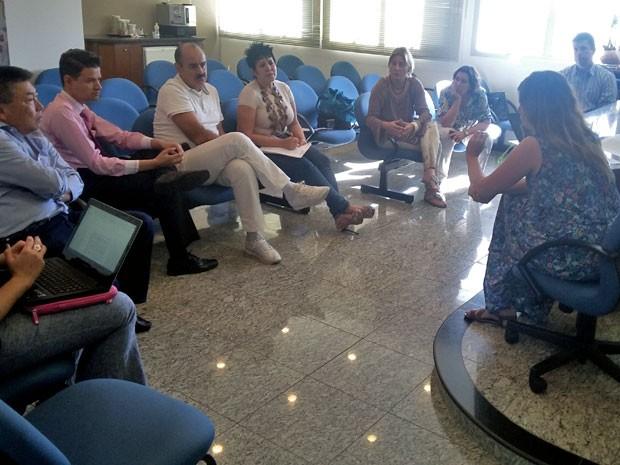 Reunião foi realizada na Associação Paulista do Ministério Público (Foto: Stephanie Fonseca/G1)
