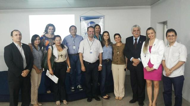 Reunião tratou de detalhes das ações aconteceuram no novo formato do 'Piauí TV nos Bairros'  (Foto: Divulgação / TV Clube)