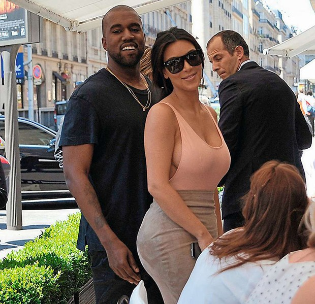 May 19, 2014: Kim Kardashian and fiance Kanye West go shopping in Paris, France this morning stopping by Balenciaga and Colette before heading to lunch at L'Avenue.Mandatory Credit: INFphoto.com Ref: inffr-01/181840 |sp|U.S., U.K., AUSTRALIA SALES ONLY. (Foto: INFphoto.com)