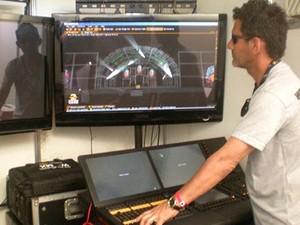 Técnico de sonorização pode aproveitar as oportunidades (Foto: Juliana Neves/G1 SC)