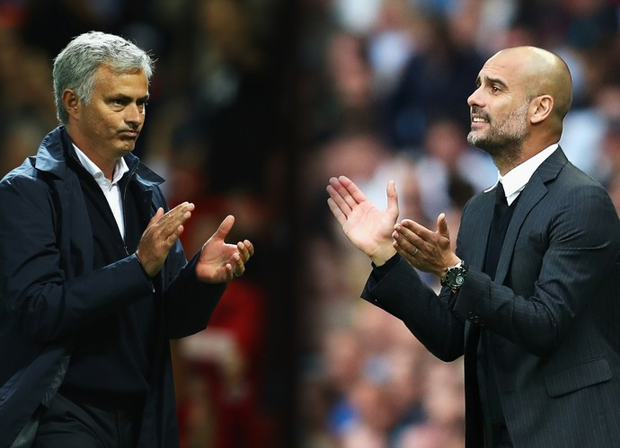 José Mourinho - Pep Guardiola  (Foto: Getty Images)
