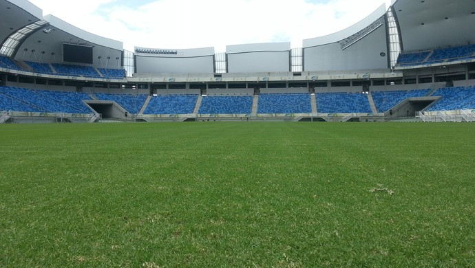 Arena das Dunas - gramado - reforma (Foto: Juliana Corbari)