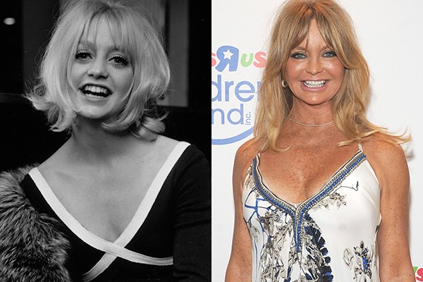 Goldie Hawn hoje tem 70 anos (Foto: Getty Images)