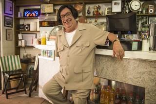 Marcos Oliveira como o personagem Beiçola (Foto: Paulo Belote / Globo)