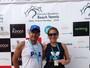MS fatura três ouros e duas pratas em etapa nacional do beach tennis, no RJ
