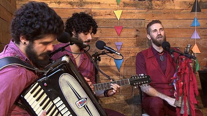 Coutto Orchestra no Levando um Som (Foto: TV SERGIPE)