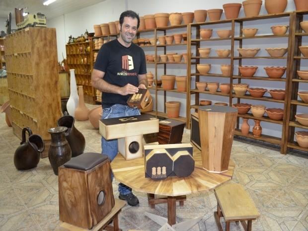 Artesanato Porto Velho ~ G1 Artes u00e3os de RO se capacitam para expor produtos na Copa 2014 notícias em Rond u00f4nia
