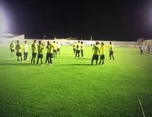 ABC treina em Santa Cruz para a partida contra o Boa Esporte (Foto: Divulgação/ABC)