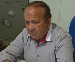 Antonio Aquino Lopes, presidente da Federação de Futebol do Acre (Foto: Murilo Lima)