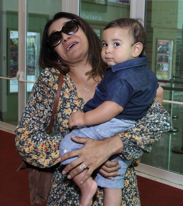 Dira Paes e Martim (Foto: Thyago Andrade/Brazil News)