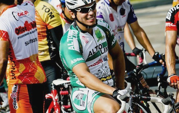 Corrida ciclistica aguinaldo archer pinto - Rafael Louro (Foto: Arquivo Pessoal)