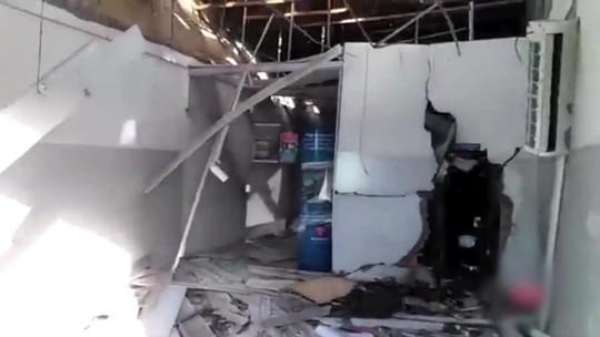 Grupo explode agência bancária na cidade de Inhapi, Sertão de Alagoas