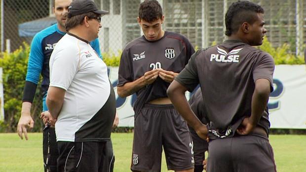 Guto Ferreira conversa com Rildo (Foto: Reprodução EPTV)