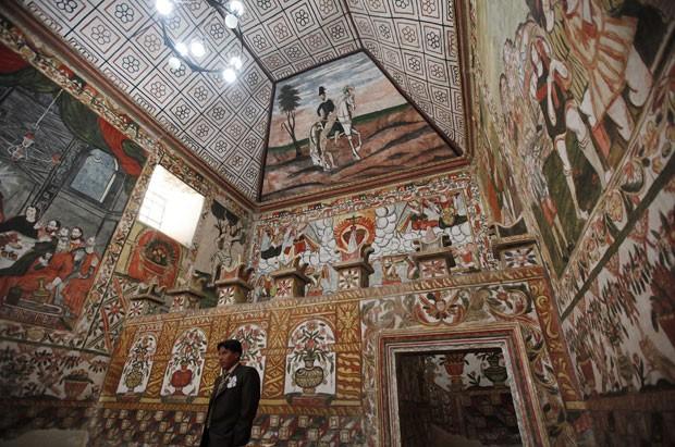 A 'Capela Sistina dos Andes' (Foto: AP)
