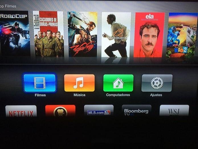 Apple TV tem bastante conteúdo (Foto: Thiago Barros/Reprodução) (Foto: Apple TV tem bastante conteúdo (Foto: Thiago Barros/Reprodução))