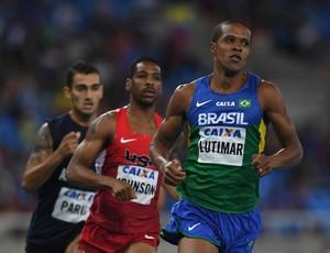 Lutimar Paes também garantiu índice olímpico no evento-teste (Foto: Getty Images)